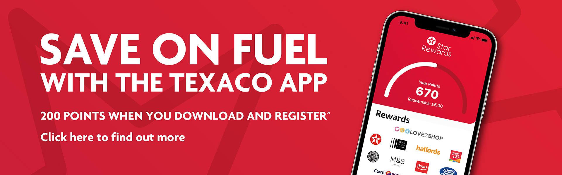 Save on fuel with the Texaco app